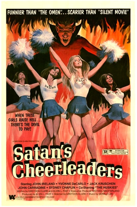 satans cheeleaders